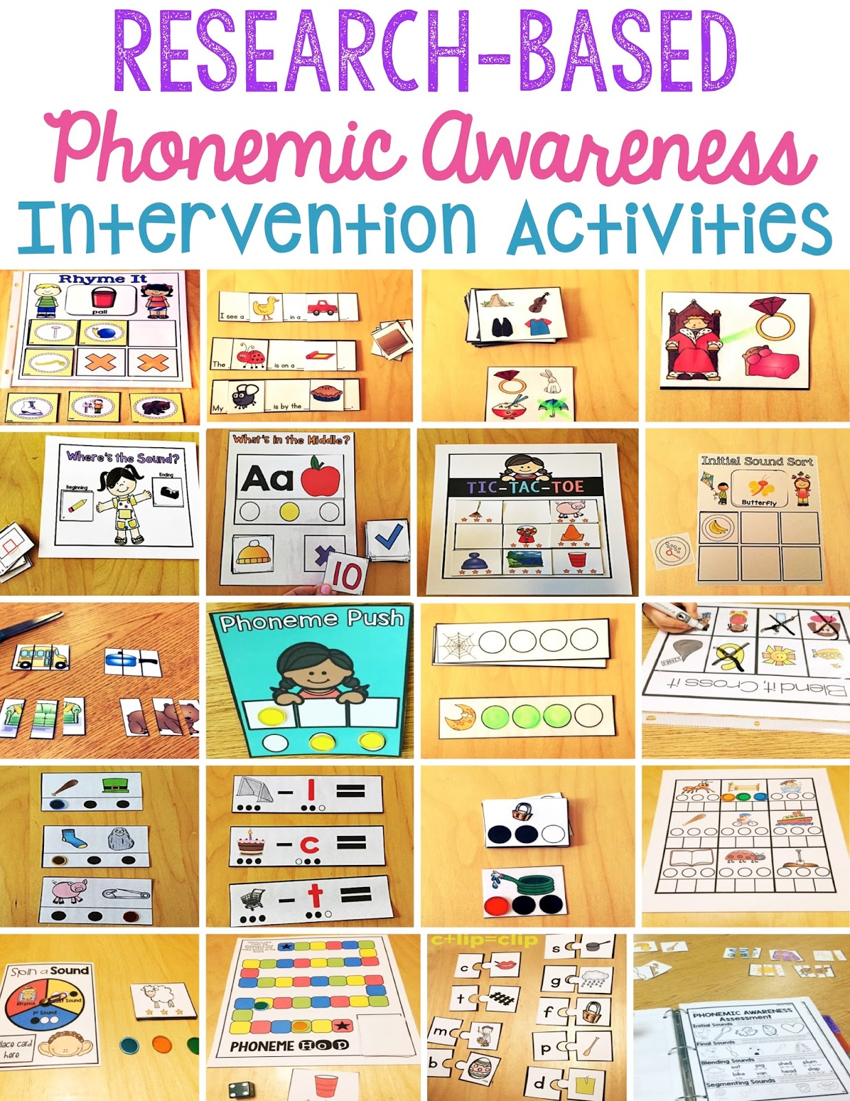 Sarah S First Grade Snippets Phonemic Awareness