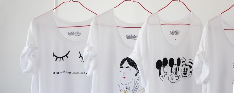 Selébrities, camisetas para nostálgicos