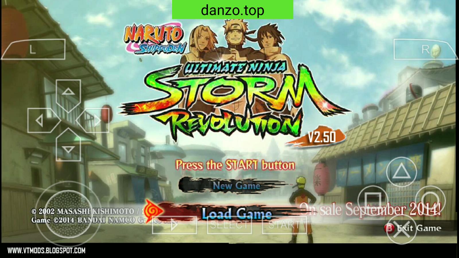game naruto shippuden ultimate ninja storm 4 mod ppsspp