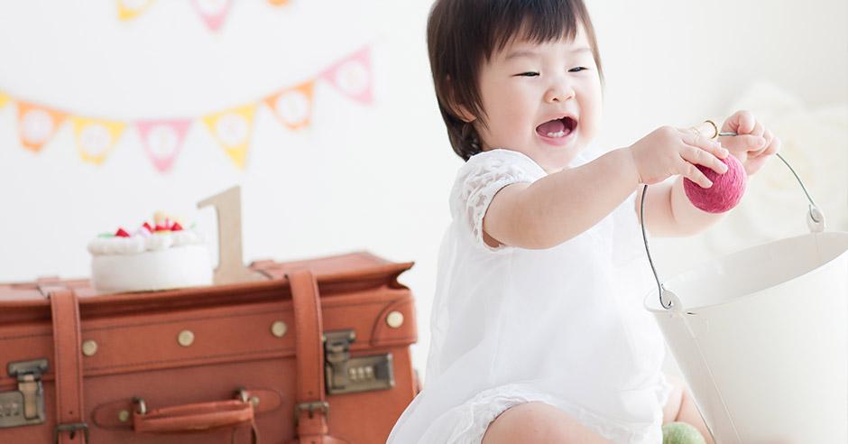 はじめてのバースデー!記念すべき1歳の誕生日プレゼントの選び方