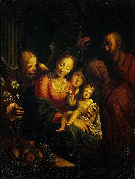 A Sagrada Família - Hans Von Aachen e suas pinturas ~ Um grande pintor do estilo maneirista