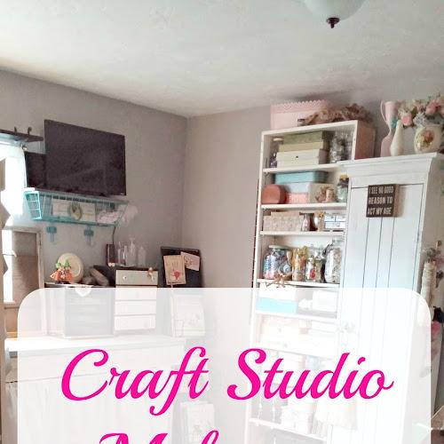 Craft Studio Makeover Reveal - Part I