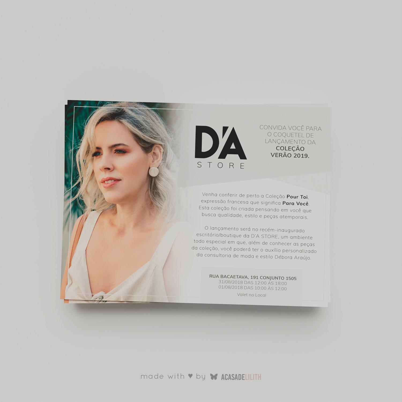 Fashion Design Flyer Designer de Moda / Boutique de Roupas - Logotipo e Flyer