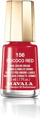 Rococo Red uñas Mavala