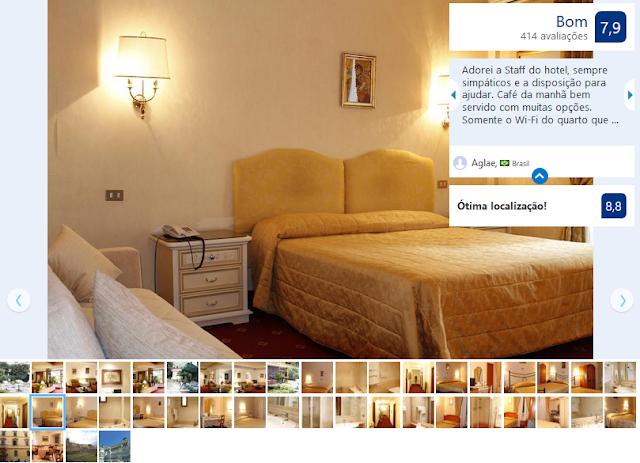 Hotel Edera para ficar em Roma