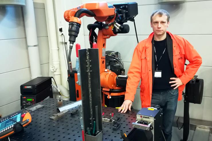 Роботизация сварочного производства вместе с Kemppi