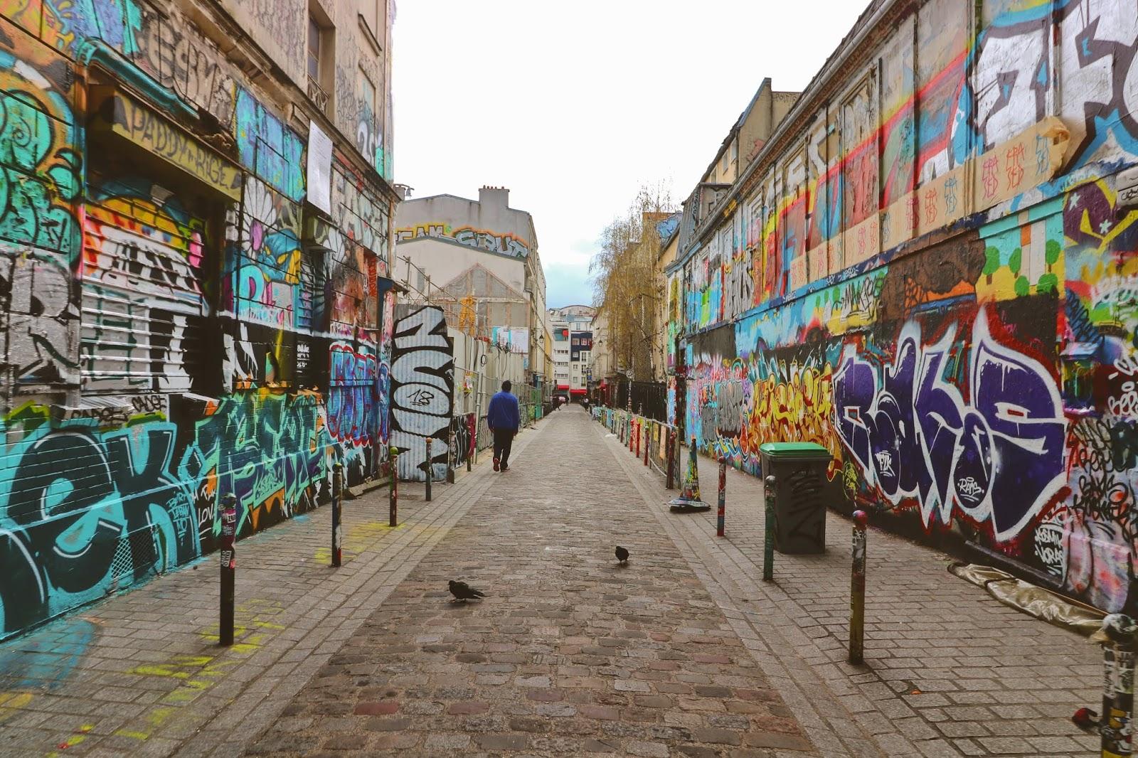 street art paryż