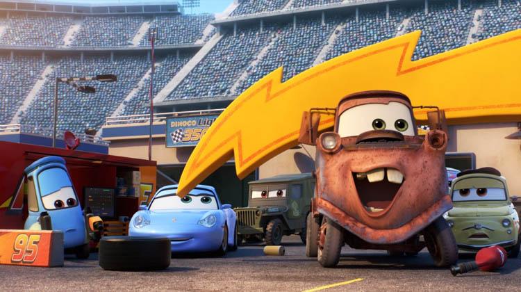 Los amigos de Rayo MCQueen en Cars 3