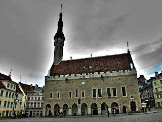 Здание Ратуши в Таллине
