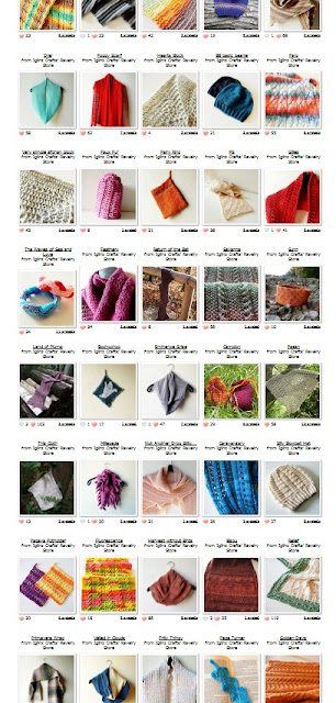 All knitting and crochet patterns are 50% discounted.