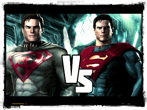 RED SON SUPERMAN Vs ORIGINAL SUPERMAN