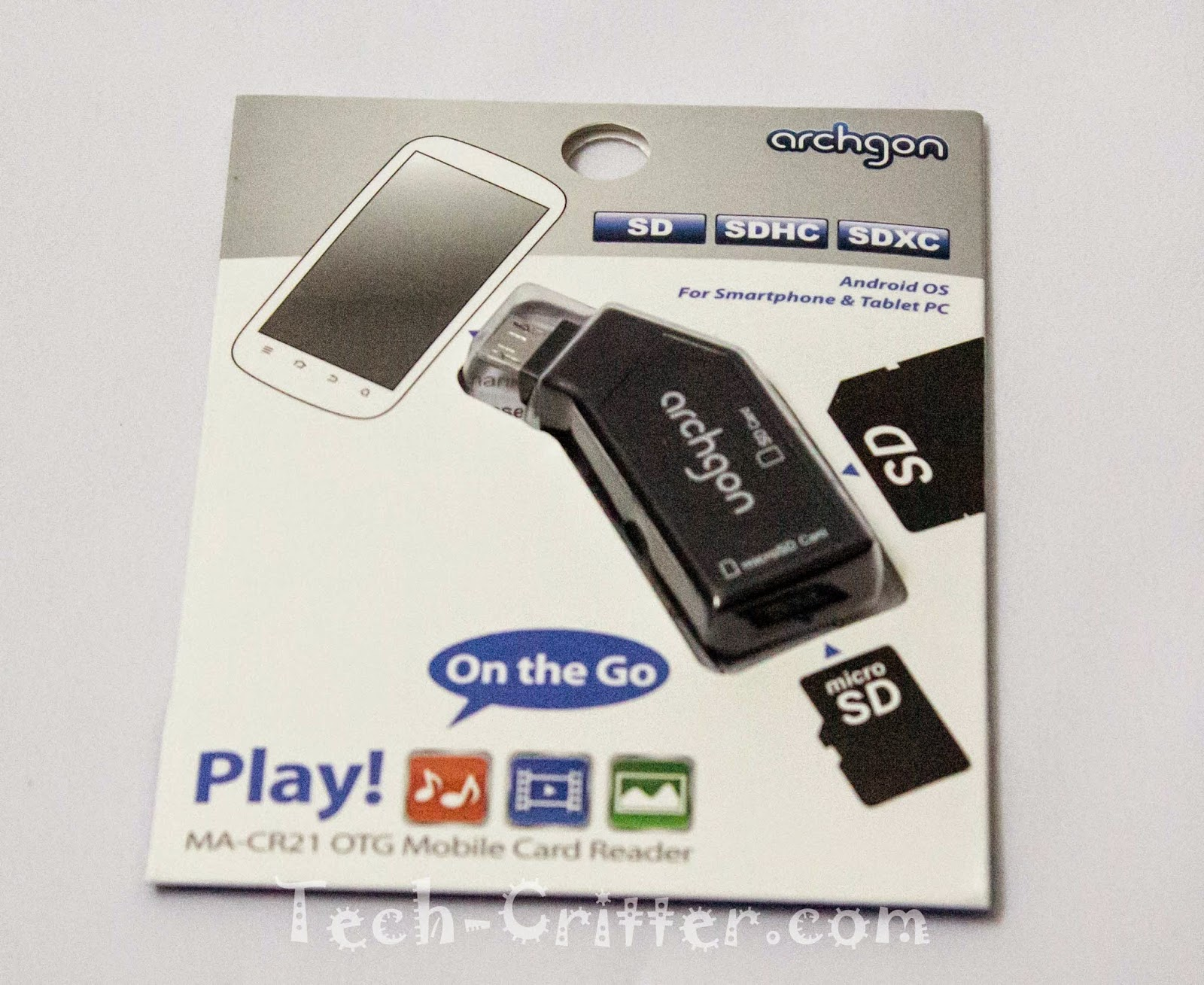 Unboxing and Review: Archgon Play! OTG Mobile Card Reader 21
