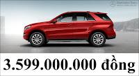 Giá xe Mercedes GLE 400 4MATIC