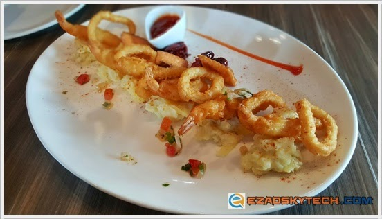 Seafood Platter U-Cafe Wangsa Walk