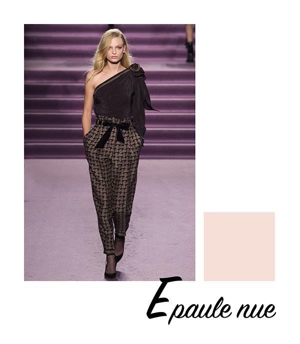 fashion weeks automne 2016 philosophy lorenzo serafini épaule nue clemence m