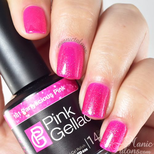 Pink Gellac Partylicious Pink Swatch