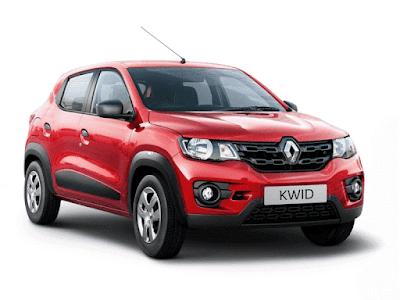 Renault Kwid 1.0 MT exterior look