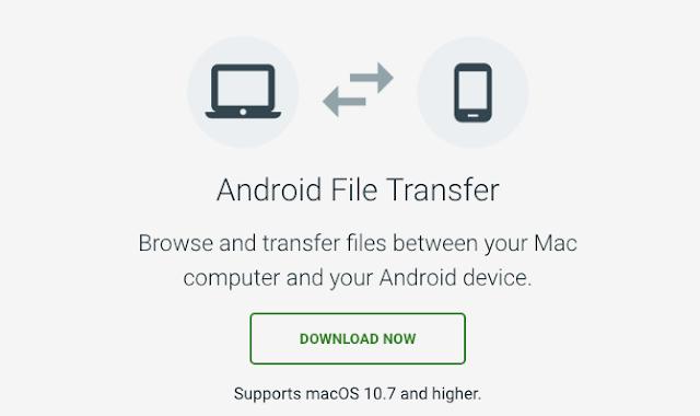 Cara Menghubungkan Hp Android Ke Macbook