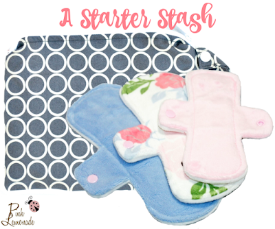 Start Your New Year with Reusable Cloth Menstrual Pads from Pink Lemonade Shop!