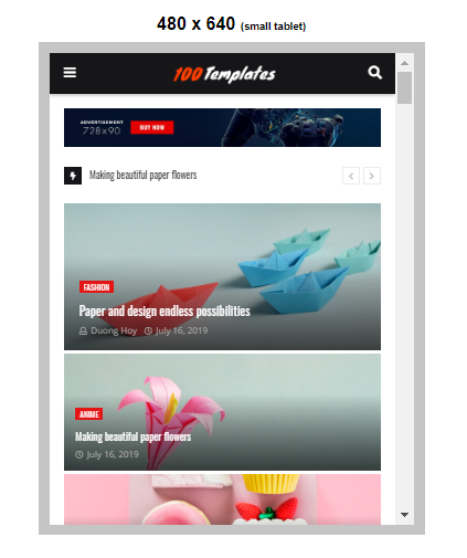 Newsify blogger templates free download