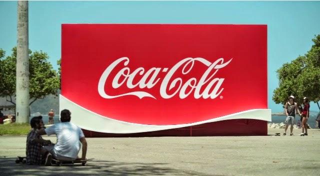 Coca-cola rampa de patinaje
