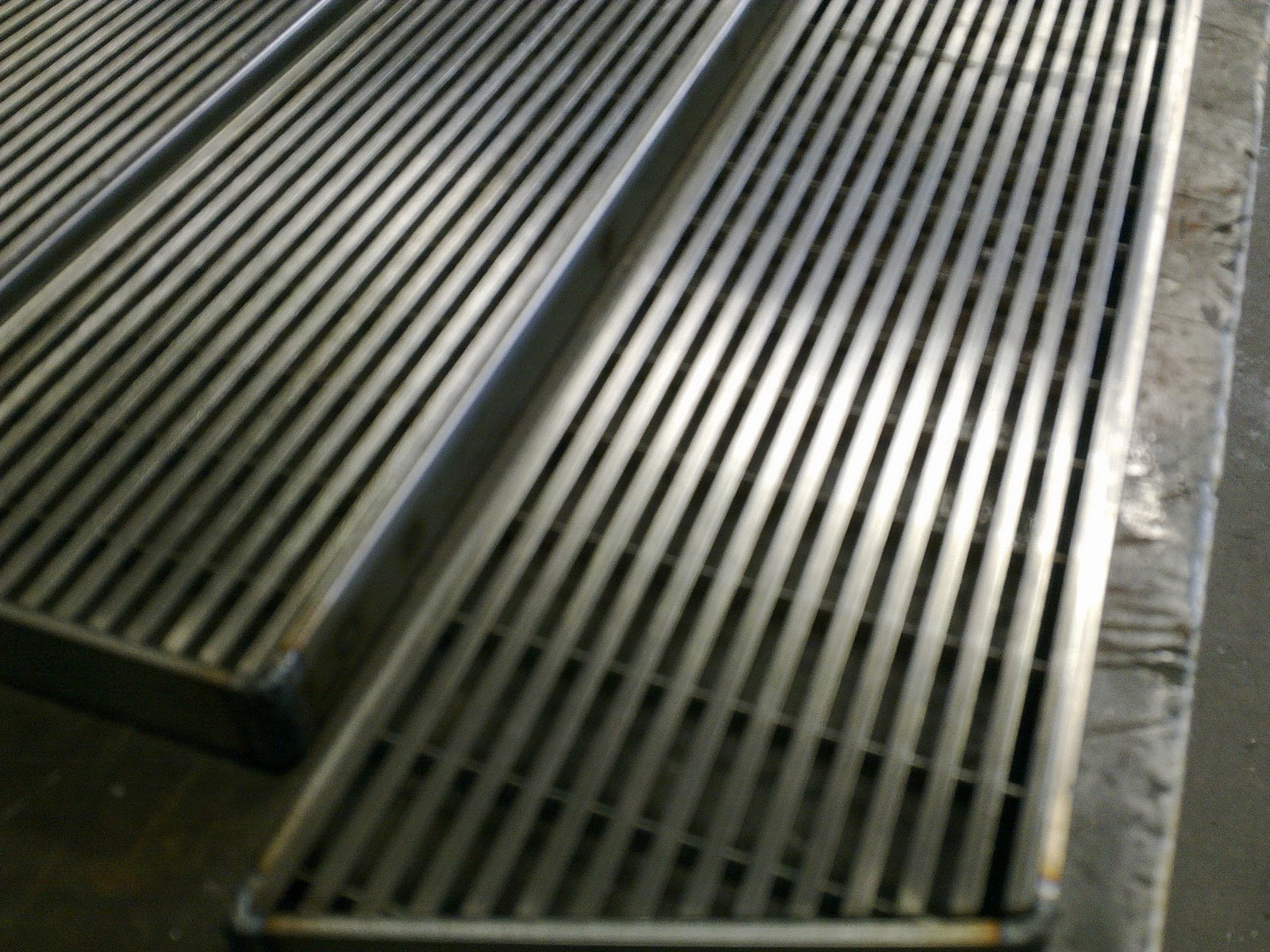 Commercial Stainless Steel Display