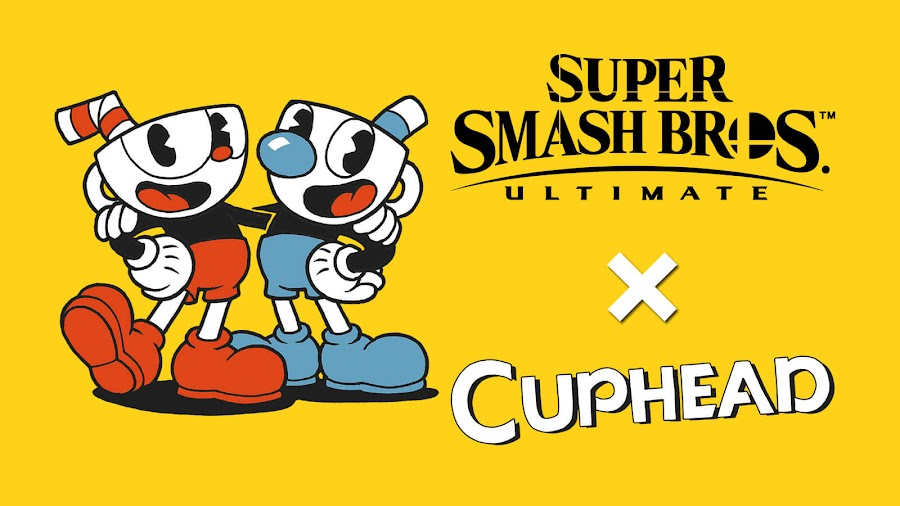 super smash bros ultimate cuphead mugman nintendo switch