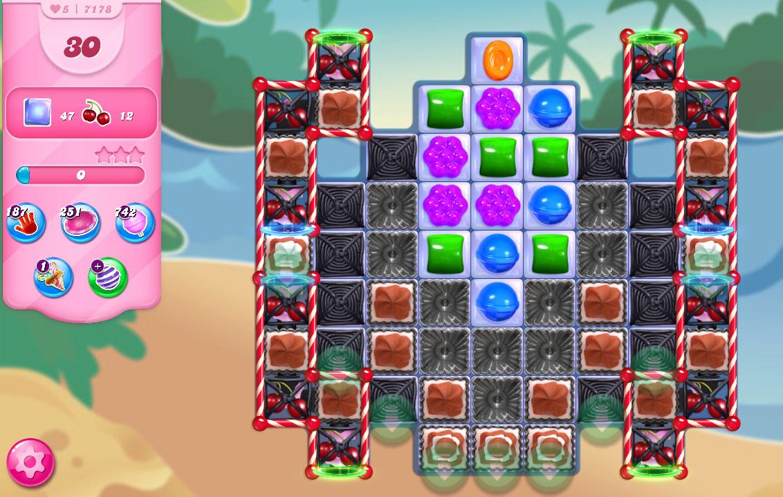 Candy Crush Saga level 7178