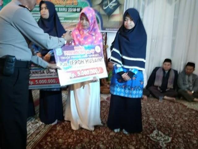 Juara 1 Cabang Hifzh Al-Qur'an MTQ Provinsi Jambi. Ini Profil Kafilah Asal Pentagen Kerinci