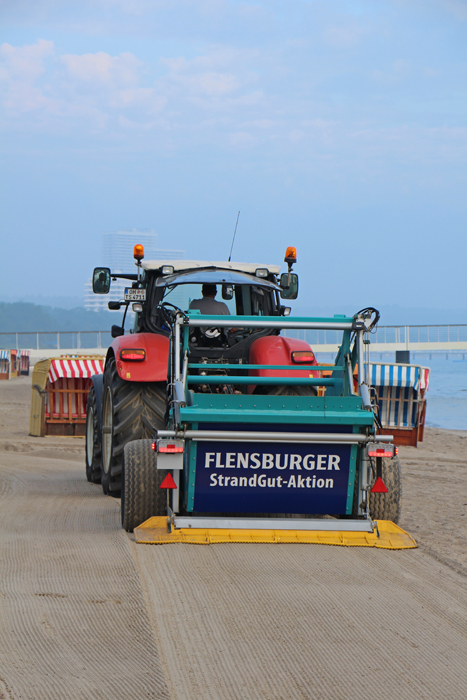 Strandreinigung Timmendorfer Strand