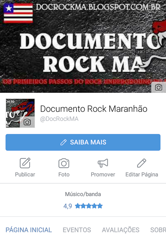 Doc Rock MA no Facebook
