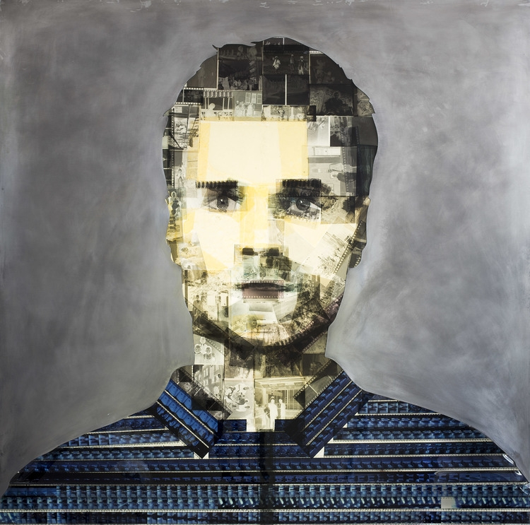 13-Glitch-Film-negatives-Nick-Gentry-Painting-on-Recycled-and-Obsolete-Technological-Materials-www-designstack-co