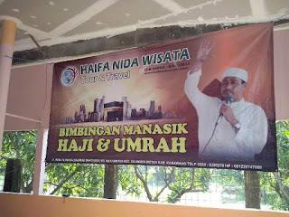 Manasik Umroh Travel HAIFA NIDA WISATA bersama Susu Haji Sehat Cilaya Wetan Karawang  Jawa Barat