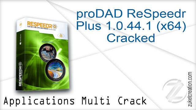 Prodad Respeedr Crack