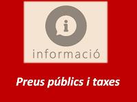 Preus públics i taxes