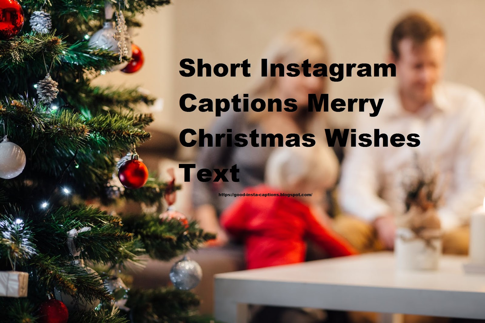 Short Instagram Captions Merry Christmas Wishes Text