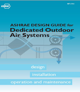 DOAS ,ASHRAE DESIGN GUIDE for Dedicated Outdoor Air Systems,DOAS,IAQ,Ventilation,fresh air,ASHRAE,FCU,Dedicated ventilation,common  ventilation