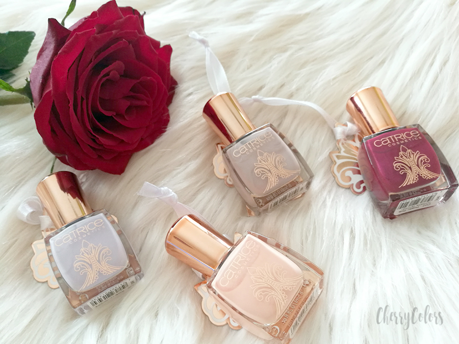Essence Victorian Poetry Nail polishes