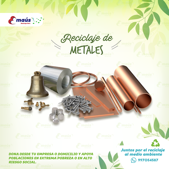 Reciclaje de Metales - Emaús Reciclaje Perú