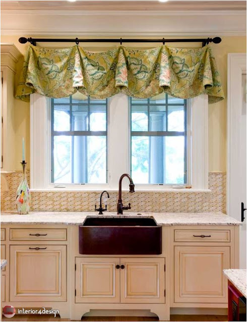 Elegant Kitchen Curtains 22