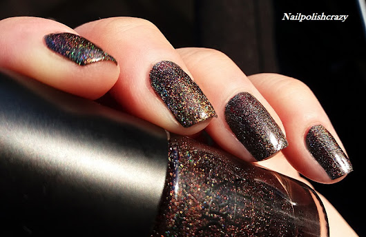 Holographic Holo Series Glitter Nail Polish - Papacolea Breeze BPH04