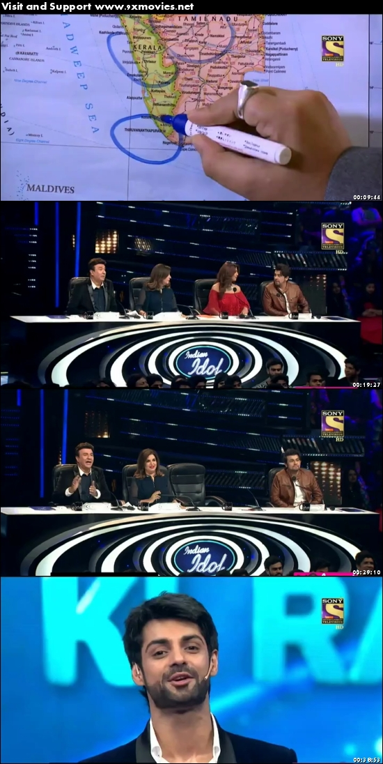 Indian Idol 18 March 2017 HDTV 480p
