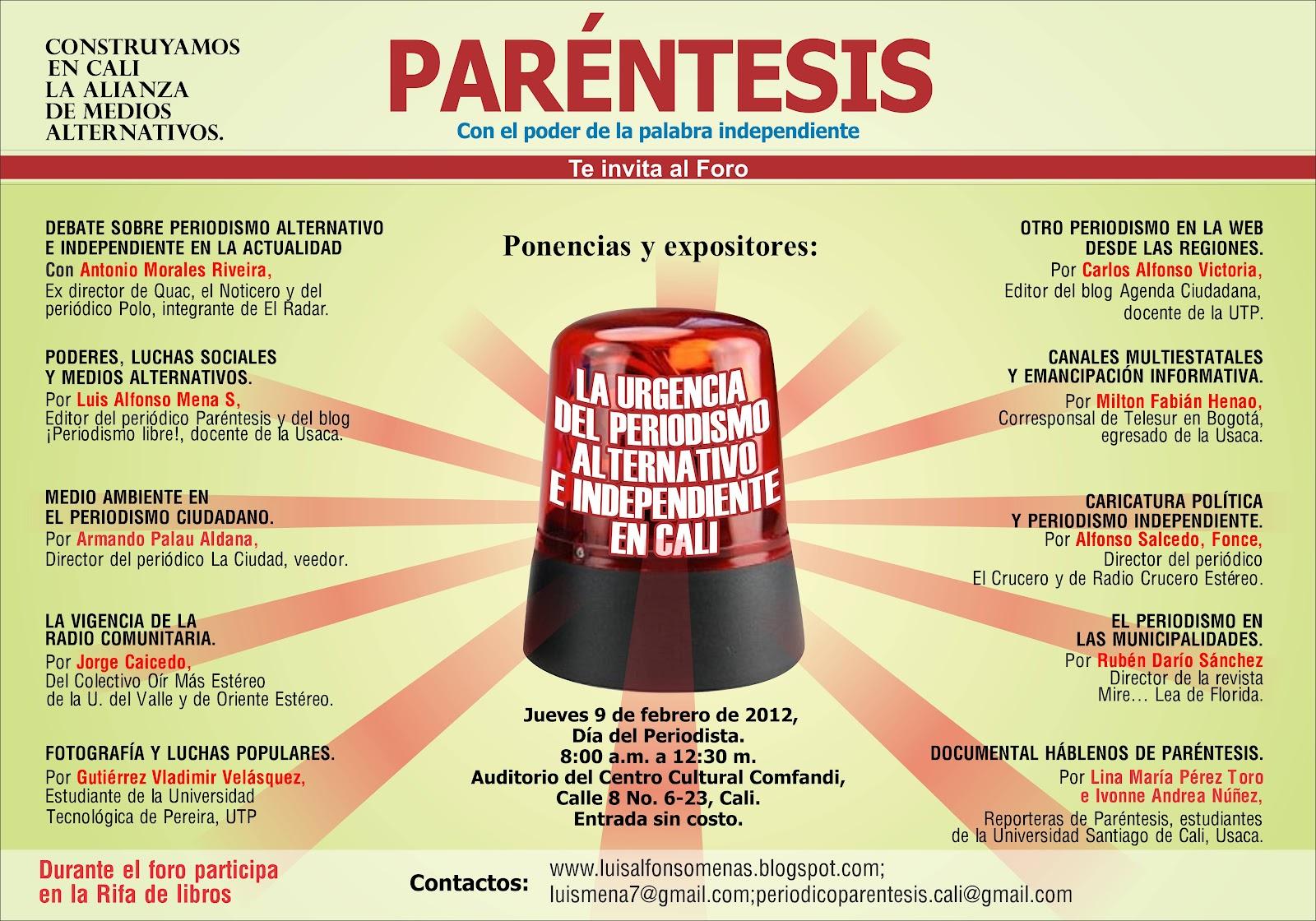 ¡PERIODISMO LIBRE!: Febrero 2012