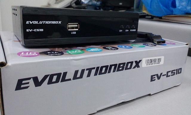 EVOLUTIONBOX EV CS10 NOVA ATUALIZAÇÃO V1.2156 - 28/08/2017