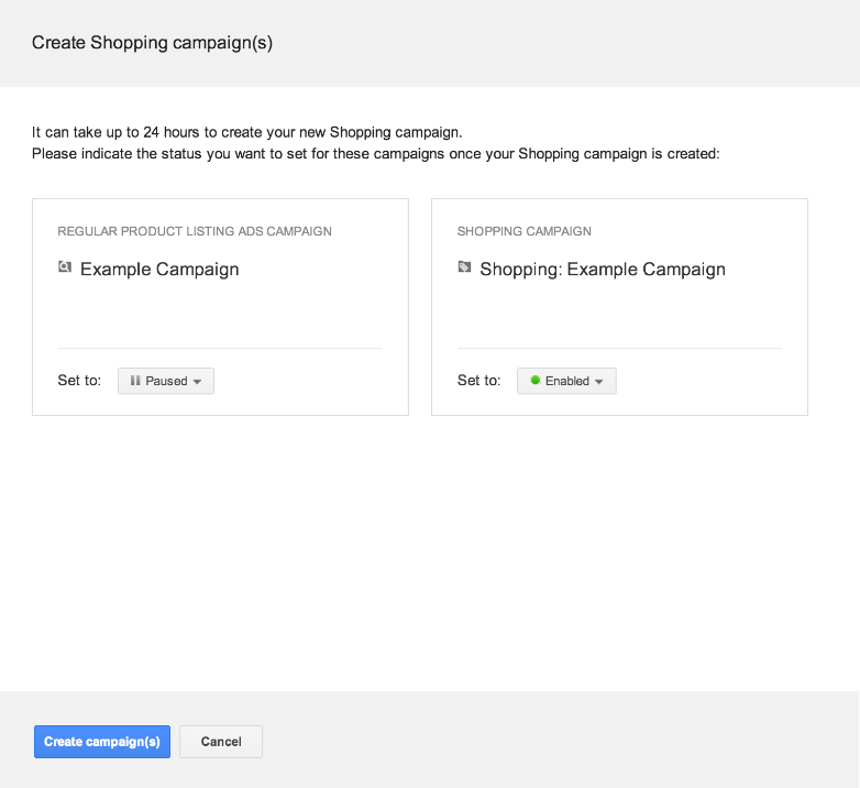 Google Commerce: New Shopping Campaigns Upgrade Tool