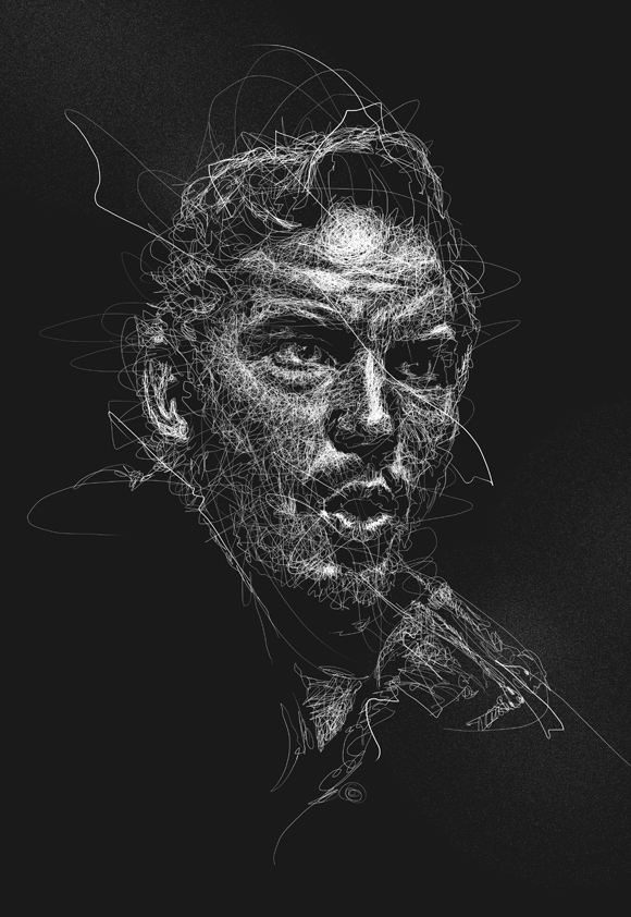 12-Vince-Low-Scribble-Drawing-Portraits-Super-Heroes-and-More-www-designstack-co