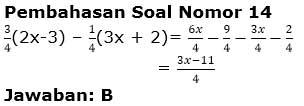 Soal Aljabar Kelas 7 SMP gambar 10