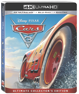 CARS 3 on Digital HD & 4K Ultra HD Today!