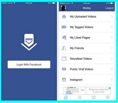 download facebook videos iphone 6