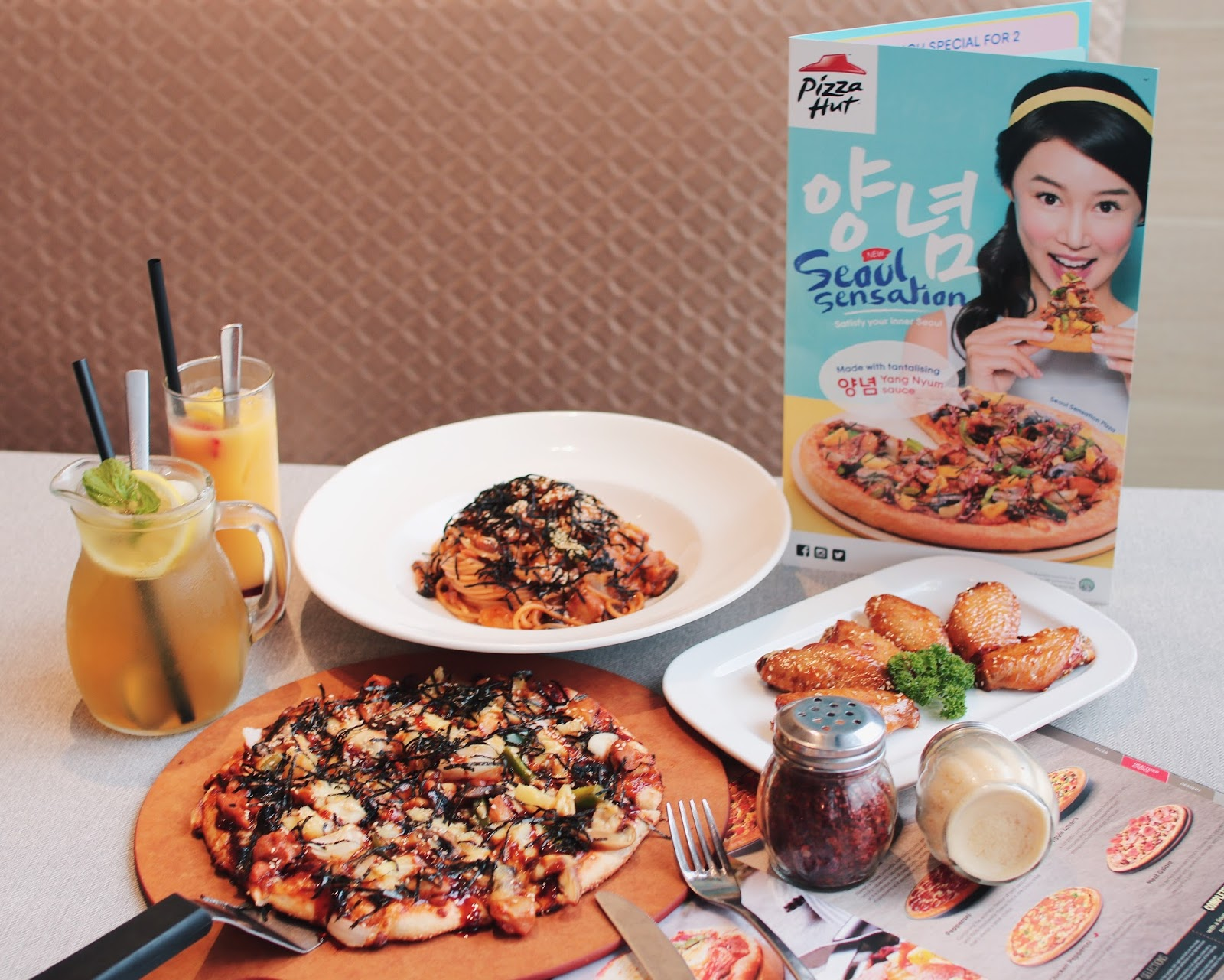 east point, pizza hut, seoul pizza menu, pizzahut